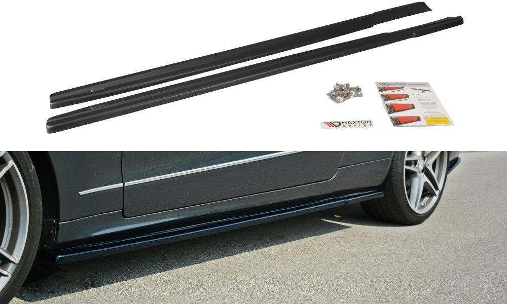 Dokładki Progów Mercedes E W212 - GRUBYGARAGE - Sklep Tuningowy